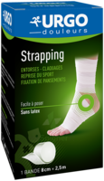 Urgo Strapping 8cm X 2,5m à OULLINS