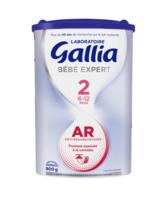 Gallia Bebe Expert Ar 2 Lait En Poudre B/800g à OULLINS
