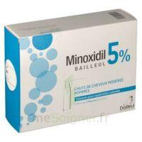 Minoxidil Bailleul 5 % Solution Pour Application Cutanée 3 Fl/60ml à OULLINS