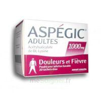 Aspegic Adultes 1000 Mg, Poudre Pour Solution Buvable En Sachet-dose 20 à OULLINS