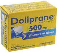 Doliprane 500 Mg Poudre Pour Solution Buvable En Sachet-dose B/12 à OULLINS