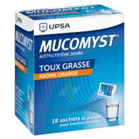 Mucomyst 200 Mg Poudre Pour Solution Buvable En Sachet B/18 à OULLINS