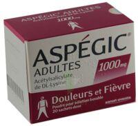 Aspegic Adultes 1000 Mg, Poudre Pour Solution Buvable En Sachet-dose 15 à OULLINS