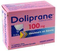 Doliprane 100 Mg Poudre Pour Solution Buvable En Sachet-dose B/12 à OULLINS