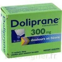 Doliprane 300 Mg Poudre Pour Solution Buvable En Sachet-dose B/12 à OULLINS
