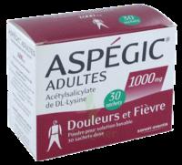 Aspegic Adultes 1000 Mg, Poudre Pour Solution Buvable En Sachet-dose 30 à OULLINS