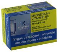 Magnesium/vitamine B6 Biogaran Conseil 48 Mg/5 Mg, Comprimé Pelliculé à OULLINS