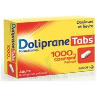Dolipranetabs 1000 Mg Comprimés Pelliculés Plq/8 à OULLINS