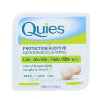 Quies Protection Auditive Cire Naturelle 8 Paires à OULLINS