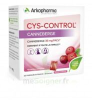 Cys-control 36mg Poudre Orale 20 Sachets/4g à OULLINS