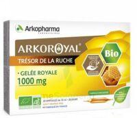 Arkoroyal Gelée Royale Bio 1000 Mg Solution Buvable 20 Ampoules/10ml à OULLINS