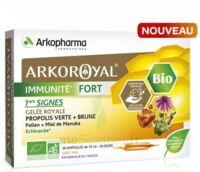 Arkoroyal Immunité Fort Solution Buvable 20 Ampoules/10ml à OULLINS