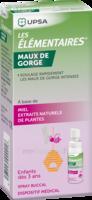 Les Elementaires Spray Buccal Maux De Gorge Enfant Fl/20ml à OULLINS