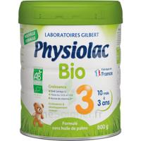 Physiolac Bio Lait 3éme Age 800g à OULLINS