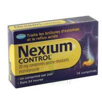 Nexium Control 20 Mg Comprimés Gastro-résistants Plq/14 à OULLINS