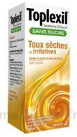 Toplexil 0,33 Mg/ml Sans Sucre Solution Buvable 150ml à OULLINS