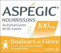 Aspegic Nourrissons 100 Mg, Poudre Pour Solution Buvable En Sachet-dose à OULLINS