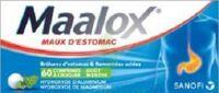 Maalox Hydroxyde D'aluminium/hydroxyde De Magnesium 400 Mg/400 Mg Cpr à Croquer Maux D'estomac Plq/60 à OULLINS