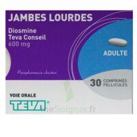 Diosmine Teva Conseil 600 Mg, Comprimé Pelliculé à OULLINS