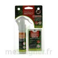 Insect Protect Spray Peau + Spray VÊtements Fl/18ml+fl/50ml à OULLINS