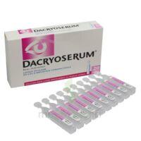 Dacryoserum Solution Pour Lavage Ophtalmique En Récipient Unidose 20unidoses/5ml à OULLINS