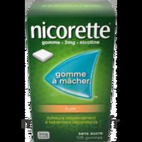 Nicorette 2 Mg Gomme à Mâcher Médicamenteuse Sans Sucre Fruits Plq/30 à OULLINS
