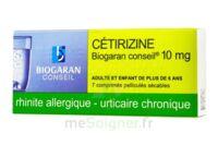 Cetirizine Biogaran Conseil 10 Mg, Comprimé Pelliculé Sécable à OULLINS