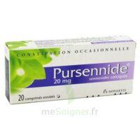 Pursennide 20 Mg, Comprimé Enrobé à OULLINS