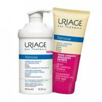 Xémose Crème Relipidante Anti-irritations Fl Pompe/400ml + Huile Lavante 200ml à OULLINS