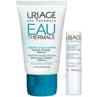 Uriage Eau Thermale Crème D'eau Mains T/30ml+stick Lèvres à OULLINS