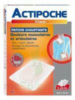 Actipoche Patch Chauffant Douleurs Musculaires B/2 à OULLINS