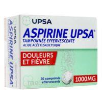 Aspirine Upsa Tamponnee Effervescente 1000 Mg, Comprimé Effervescent à OULLINS