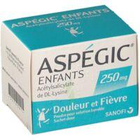 Aspegic Enfants 250, Poudre Pour Solution Buvable En Sachet-dose à OULLINS