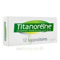 Titanoreine Suppositoires B/12 à OULLINS