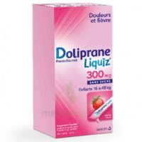 Dolipraneliquiz 300 Mg Suspension Buvable En Sachet Sans Sucre édulcorée Au Maltitol Liquide Et Au Sorbitol B/12 à OULLINS