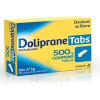 Dolipranetabs 500 Mg Comprimés Pelliculés Plq/16 à OULLINS