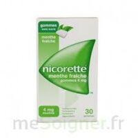 Nicorette 4 Mg Gom à Mâcher Médic Sans Sucre Menthe Fraîche Plq/30gom à OULLINS