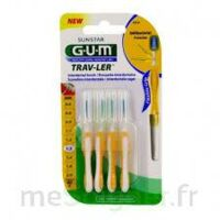 Gum Trav - Ler, 1,3 Mm, Manche Jaune , Blister 4 à OULLINS