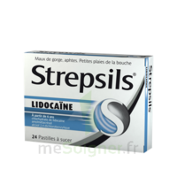 Strepsils Lidocaïne Pastilles Plq/24 à OULLINS