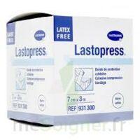 Lastopress® Bande De Compression Cohésive 7 Cm X 3 Mètres - Coloris Blanc à OULLINS