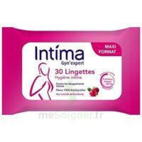 Intima Gyn'expert Lingettes Cranberry Paquet/30 à OULLINS
