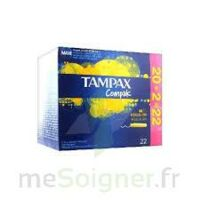 Tampax Compak - Tampon Régulier à OULLINS