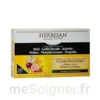 Herbesan Système Immunitaire 30 Ampoules à OULLINS