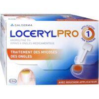 Locerylpro 5 % V Ongles Médicamenteux Fl/2,5ml+spatule+30 Limes+lingettes à OULLINS