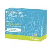 Fluimucil Expectorant Acetylcysteine 600 Mg Glé S Buv Adultes 10sach à OULLINS