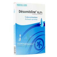 Desomedine 0,1 % Collyre Sol 10fl/0,6ml à OULLINS