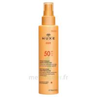 Spray Solaire Visage Et Corps Haute Protection Spf 50 Nuxe Sun150ml à OULLINS