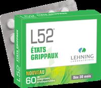 Lehning L52 Comprimés Orodispersibles Plq Pvc/pvdc/alu/60 à OULLINS