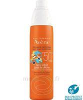 Avène Eau Thermale Solaire Spray Enfant 50+ 200ml à OULLINS