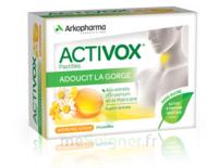 Activox Sans Sucre Pastilles Miel Citron B/24 à OULLINS